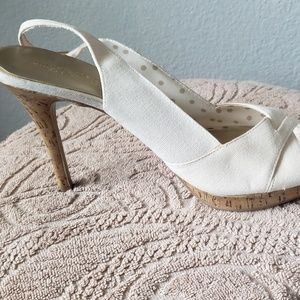 Christian Siriano Shoes - High heel white sandal